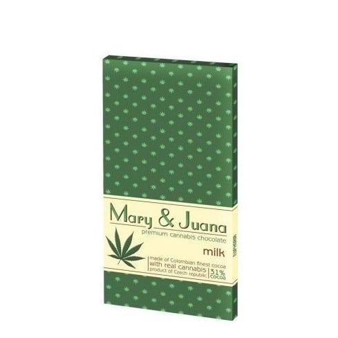Mary Juana Milk Schokolade
